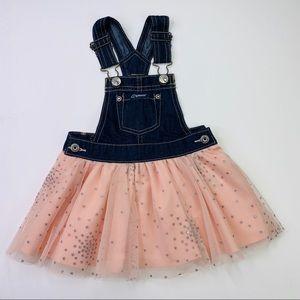 Jordache Girls Jeans Overall Dress - 12M